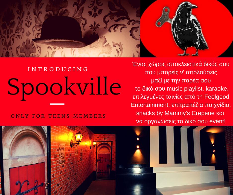 spookville teens emembers club