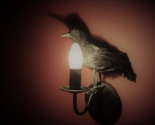 lamp-with-crow