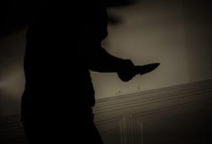 Άνθρωπος που κρατάει μαχέρι